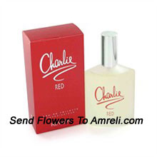 Charlie Red By Revlon. Size-100ml. Its Scent Possesses A Blend Of Violet, Rose, Apricot And Lily Of The Valley Accompanied By Additional Fruity Notes Of Fresh Citrus And Plum