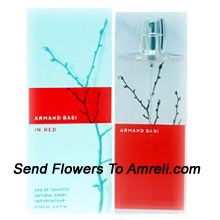 Armand Basi Red By Armand Basi. Size-100ml. This Scent Includes The Mixture Of Ginger, Bergamot, Rose, Jasmine, Violet Leaves And White Musk