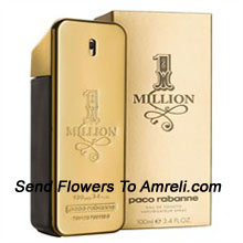 product1 Million By Paco Rabanne. Size-50ml. The Fragrance Was Developed By Perfumers Olivier Pescheux, Christophe Raynaud And Michel Girard And Features Notes Of Fragrance Includes Grapefruit, Rose, Cinnamon, Spice Notes, Mint, Blood Orange, Blond Leather, White Woods, Amber And Patchouli.