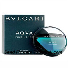 Bvlgari Aqva By Bvlgari. Size-50ml. This Was Introduced in The Year 2005. Its Scent Possesses A Blend Of Amber, Santolina, Petit Grain, Posidonia And Mandarin