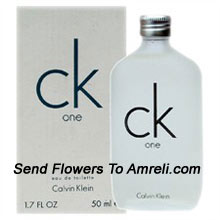 CK  One By Calvin Klein. Size-197ml. This Was Introduced In The Year 1994. This Clean, Refreshing Fragrance Has Notes Of Bergamot, Cardamom, Pineapple, Papaya, Amber And Green Tea