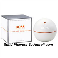 Boss In Motion White By Hugo Boss. Size-3.0. The Fragrance Is Fresh And Laid Back With A Touch Of Elegance. The Fresh, Aromatic, Woody Scent Blends Ruby Orange With Musks, Spices And Woods