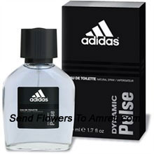 Adidas Dynamic Pulse By Adidas. Size-100ml. This Was Introduced In The Year 1997. It Possesses A Fresh Scent Of Citrus, Cedar And Mint With Low Tones Of Sweet Fruits, FrYamunanagarnt Woods And Tonka Bean