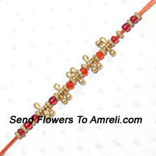 productConvey Your Warm And Tender Feeling Of Affection To Your Dear Brother By Sending This Rakhi ( Please Note That In Case Of Non-Availability Of A Certain Product We Will Substitute The Same With A Suitable Product Of Equal Or Higher Value As Per Prices On The Website. The Products Under This Category Needs To Be Accompanied With The Other Products.)