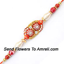 productA Unique Rakhi Thread For Your Brother ( Please Note That In Case Of Non-Availability Of A Certain Product We Will Substitute The Same With A Suitable Product Of Equal Or Higher Value As Per Prices On The Website. The Products Under This Category Needs To Be Accompanied With The Other Products.)