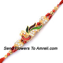 productA Pleasant Way To Receive Your Brother's Charm By Sending This Rakhi ( Please Note That In Case Of Non-Availability Of A Certain Product We Will Substitute The Same With A Suitable Product Of Equal Or Higher Value As Per Prices On The Website. The Products Under This Category Needs To Be Accompanied With The Other Products.)