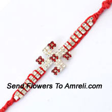 productAllocate Your Brother's Happiness With This Rakhi ( Please Note That In Case Of Non-Availability Of A Certain Product We Will Substitute The Same With A Suitable Product Of Equal Or Higher Value As Per Prices On The Website. The Products Under This Category Needs To Be Accompanied With The Other Products.)