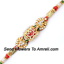 productA Trendy Rakhi For Your Loving Brother ( Please Note That In Case Of Non-Availability Of A Certain Product We Will Substitute The Same With A Suitable Product Of Equal Or Higher Value As Per Prices On The Website. The Products Under This Category Needs To Be Accompanied With The Other Products.)