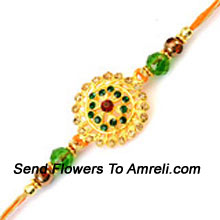 productThis Rakhi Has Something Unique About It Which Makes It An Awesome Choice ( Please Note That In Case Of Non-Availability Of A Certain Product We Will Substitute The Same With A Suitable Product Of Equal Or Higher Value As Per Prices On The Website. The Products Under This Category Needs To Be Accompanied With The Other Products.)