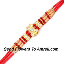 productThis Is A Gorgeous Rakhi That You Can Choose For Your Brother ( Please Note That In Case Of Non-Availability Of A Certain Product We Will Substitute The Same With A Suitable Product Of Equal Or Higher Value As Per Prices On The Website. The Products Under This Category Needs To Be Accompanied With The Other Products.)