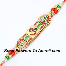 productIncrease The Charm Of Rakhi By Sending This Incredible Rakhi ( Please Note That In Case Of Non-Availability Of A Certain Product We Will Substitute The Same With A Suitable Product Of Equal Or Higher Value As Per Prices On The Website. The Products Under