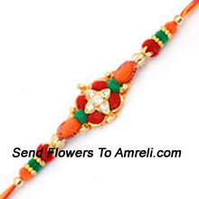 productMake This Festival Filled With Joy By Sending This Traditional Rakhi ( Please Note That In Case Of Non-Availability Of A Certain Product We Will Substitute The Same With A Suitable Product Of Equal Or Higher Value As Per Prices On The Website. The Products Under This Category Needs To Be Accompanied With The Other Products.)