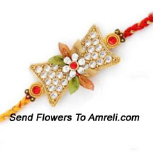 productOn This Festive Season Celebrate This Emotional Bond With Your Brother By Sending This Fancy Rakhi ( Please Note That In Case Of Non-Availability Of A Certain Product We Will Substitute The Same With A Suitable Product Of Equal Or Higher Value As Per Prices On The Website. The Products Under This Category Needs To Be Accompanied With The Other Products.)