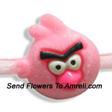 Send This Angry Bird Rakhi To Your Loving Brother ( Please Note That In Case Of Non-Availability Of A Certain Product We Will Substitute The Same With A Suitable Product Of Equal Or Higher Value As Per Prices On The Website. The Products Under This Category Needs To Be Accompanied With The Other Products.)