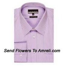 """productAustin Reed-Mens Full Sleeves Formal Stripes Shirt. 100% Cotton. It Is Among One Of The Most Popular Brands. (You Can Mention Size Required In The """"Special Request To Florist"""" Column Which Will Appear During The Shopping Process Otherwise Standard Size Shirt """"40"""" Will Be Delivered.)"""