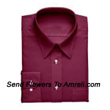 "productLouis Philippe-Mens Full Sleeves Formal Shirt. Louis Philippe Symbolizes Elegance, Class And Status For A Man. Wherever You Are, Whatever You Do, You Embody The Prefection You So Admire. (You Can Mention Size Required In The ""Special Request To Florist"" Column Which Will Appear During The Shopping Process Otherwise Standard Size Shirt ""40"" Will Be Delivered.)"