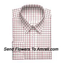 "productLouis Philippe-Mens Full Sleeves Formal Checks Shirt. Louis Philippe Symbolizes Elegance, Class And Status For A Man. Wherever You Are, Whatever You Do, You Embody The Prefection You So Admire. (You Can Mention Size Required In The ""Special Request To Florist"" Column Which Will Appear During The Shopping Process Otherwise Standard Size Shirt ""40"" Will Be Delivered.)"