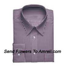 "productLouis Philippe-Mens Full Sleeves Formal Stripes Shirt. Louis Philippe Symbolizes Elegance, Class And Status For A Man. Wherever You Are, Whatever You Do, You Embody The Prefection You So Admire. (You Can Mention Size Required In The ""Special Request To Florist"" Column Which Will Appear During The Shopping Process Otherwise Standard Size Shirt ""40"" Will Be Delivered.)"