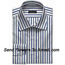 "productVan-Heusen-Mens Full Sleeves Worldwear Collection Formal Stripes Shirt. Van Heusen Is A premium Lifestyle Brand For Men. The Brand Covers All Aspects Of An Individuals Clothing Needs.. (You Can Mention Size Required In The ""Special Request To Florist"" Column Which Will Appear During The Shopping Process Otherwise Standard Size Shirt ""40"" Will Be Delivered.)"