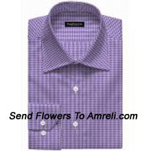 "productVan-Heusen-Mens Full Sleeves Worldwear Collection Formal Checks Shirt. Van Heusen Is A premium Lifestyle Brand For Men. The Brand Covers All Aspects Of An Individuals Clothing Needs.. (You Can Mention Size Required In The ""Special Request To Florist"" Column Which Will Appear During The Shopping Process Otherwise Standard Size Shirt ""40"" Will Be Delivered.)"