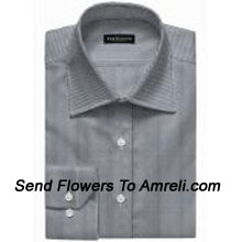 """productVan-Heusen-Mens Full Sleeves Worldwear Collection Formal Shirt. Van Heusen Is A premium Lifestyle Brand For Men. The Brand Covers All Aspects Of An Individuals Clothing Needs.. (You Can Mention Size Required In The """"Special Request To Florist"""" Column Which Will Appear During The Shopping Process Otherwise Standard Size Shirt """"40"""" Will Be Delivered.)"""