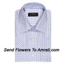"productZodiac-Mens Full Sleeves Formal Checks Shirt. Showing The Epitome Of New Age Luxury. (You Can Mention Size Required In The ""Special Request To Florist"" Column Which Will Appear During The Shopping Process Otherwise Standard Size Shirt ""40"" Will Be Delivered.)"