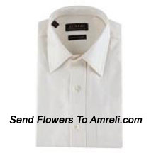 """productZodiac-Mens Full Sleeves Formal Shirt. Showing The Epitome Of New Age Luxury. (You Can Mention Size Required In The """"Special Request To Florist"""" Column Which Will Appear During The Shopping Process Otherwise Standard Size Shirt """"40"""" Will Be Delivered.)"""
