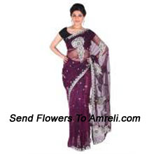 Look Sensationally Awesome In This Net Saree