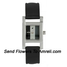 productThis Stylish, Daily Wear Wrist watch Is Completed In Simple, Black Strap (Please Note That The Design May Vary According To The Availability, And This Product Is Disptached From Head Office And Can Take 3-6 Working Days To Arrive)