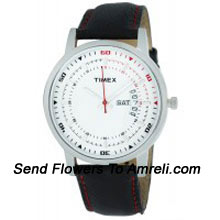 A Designer Timex Wrist Watch. This Gives A Casual And Formal Look To Your Wrist