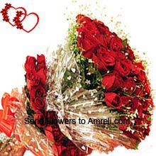 product50 Red Roses In A Bunch