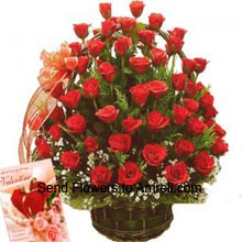 productArrangement of 50 Red Roses