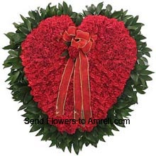 productHeart Shaped Arrangement Of 250 Red Roses