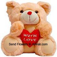 productA 3 Feet Tall Teddy Bear With A Heart (  Please Note That We Reserve The Right To Substitute Any Product With A Suitable Product Of Equal Value In Case Of Non Availability Of A Certain Product)