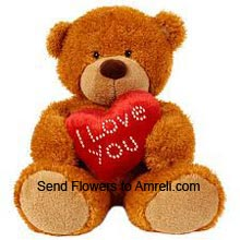 product1.5 Feet Tall Teddy Bear With A Heart (  Please Note That We Reserve The Right To Substitute Any Product With A Suitable Product Of Equal Value In Case Of Non Availability Of A Certain Product)