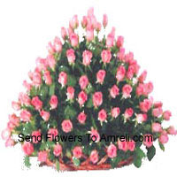 productBasket Of 150 Pink Roses