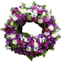 productMixed Flower Wreath