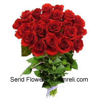 Bunch Of 24 Red Roses