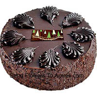 product1/2 Kg (1.1 Lbs) Dark Chocolate Cake