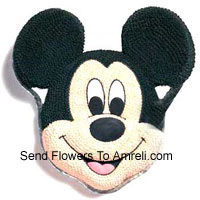3 Kg (6.6 Lbs) Mickey Mouse Cake