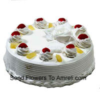 product1 Kg (2.2 Lbs) Cream Cake