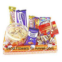 Gift Wrapped Assorted Chocolates (This Product Needs To Be Accompanied With The Flowers)