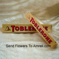 2 Bars Of Toblerone Chocolate