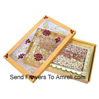 Assorted Dry Fruit In A Gift Box. Weight 1 Kg