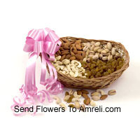 2 Kg Mixed Dry Fruit In A Basket