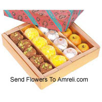 Assorted Mithai In A Gift Box