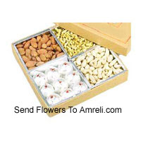 Kaju Kalash and Assorted Dry Fruit In A Gift Box