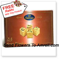 product1Kg Soan Papdi With A Free Rakhi