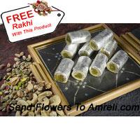 product1 Kg Kaju Roll With A Free Rakhi