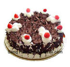 1/2 Kg (1.1 Lbs) Black Forest Cake